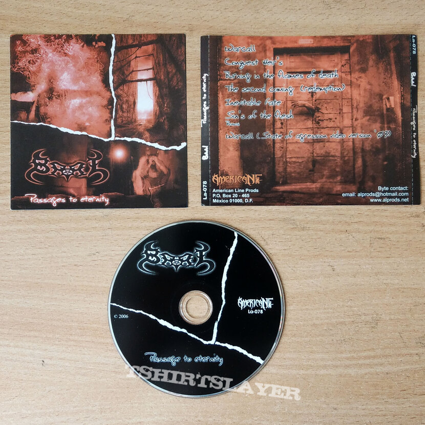 BAAL – Passages to Eternity (CD)