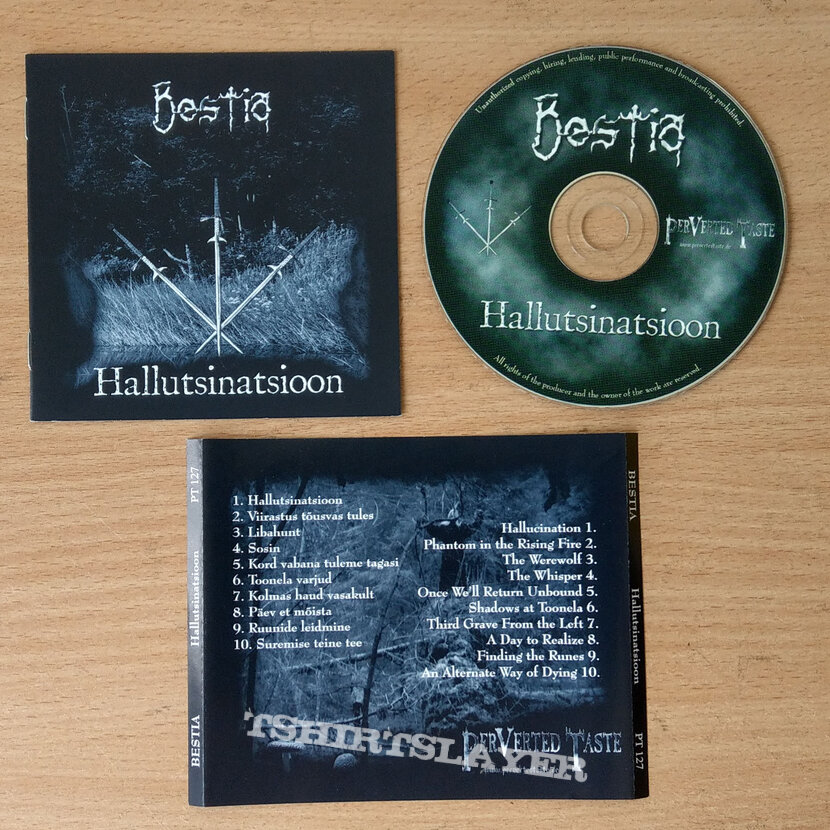 BESTIA – Hallutsinatsioon (CD)