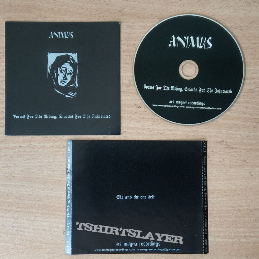 ANIMUS - Poems For The Aching, Swords For The Infuriated (CD)