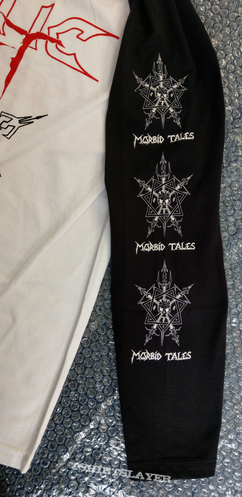 CELTIC FROST - Morbid Tales (White Ringer Long Sleeve)