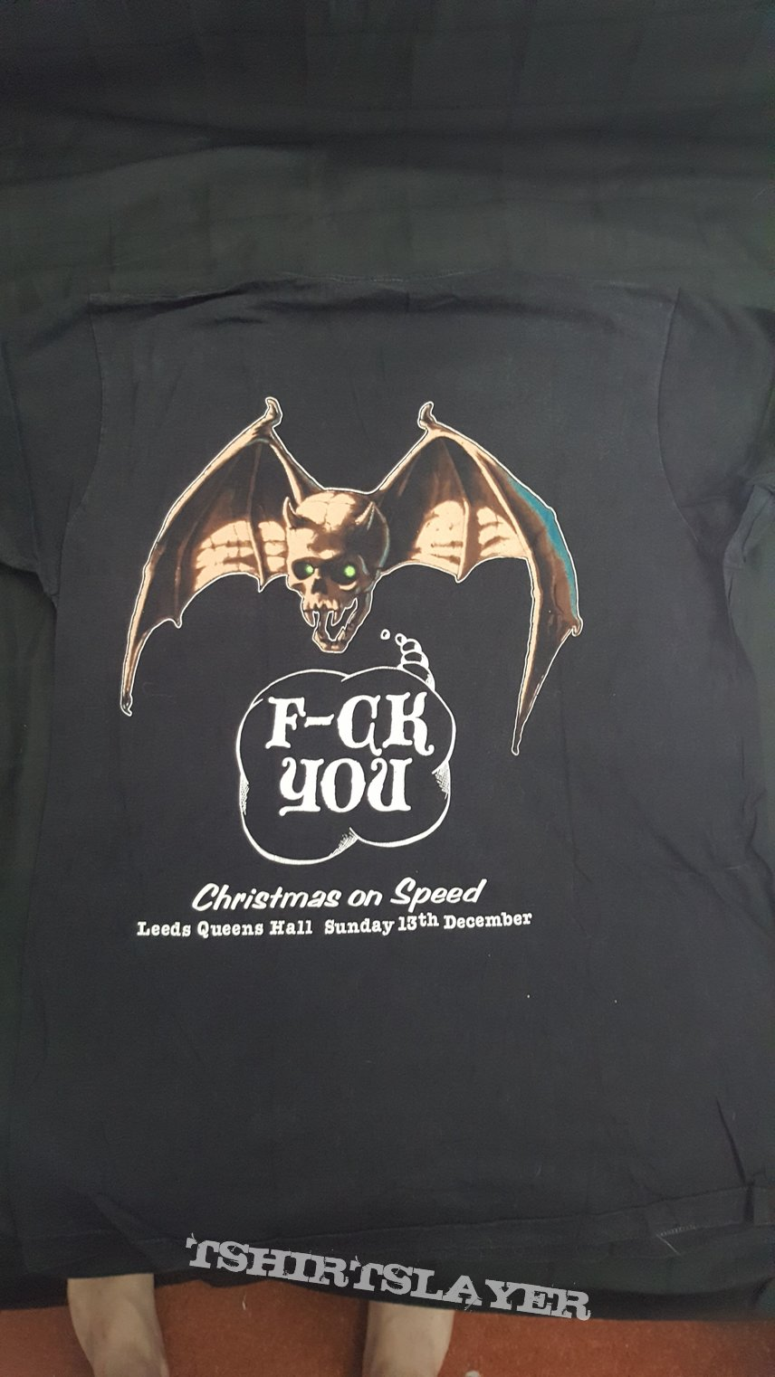 Overkill - F-ck You (Christmas on speed) T-shirt size L
