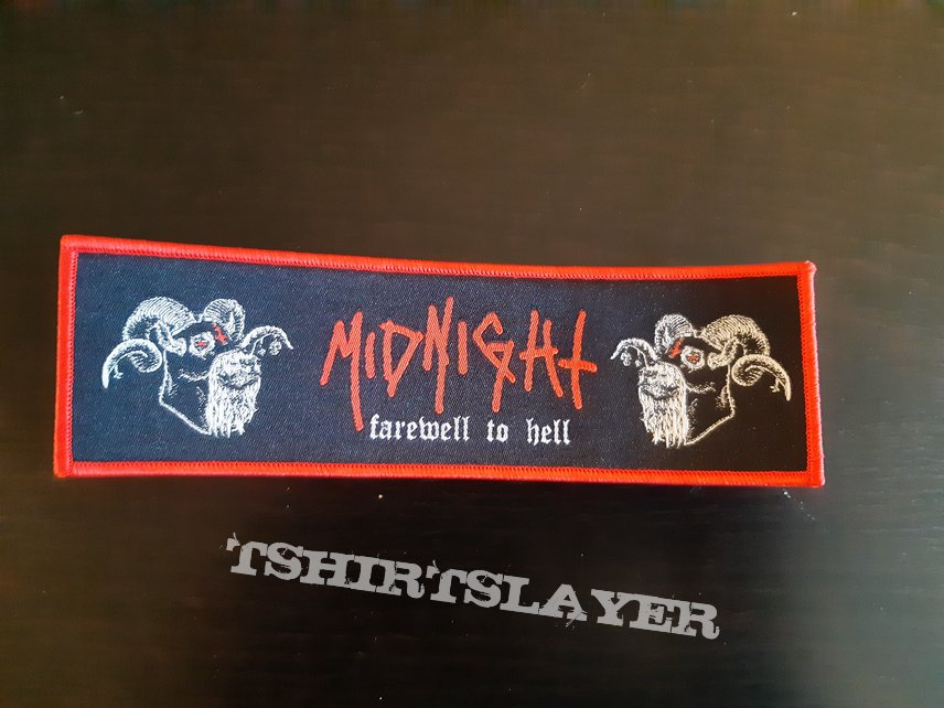 Midnight - farewell to hell stripe