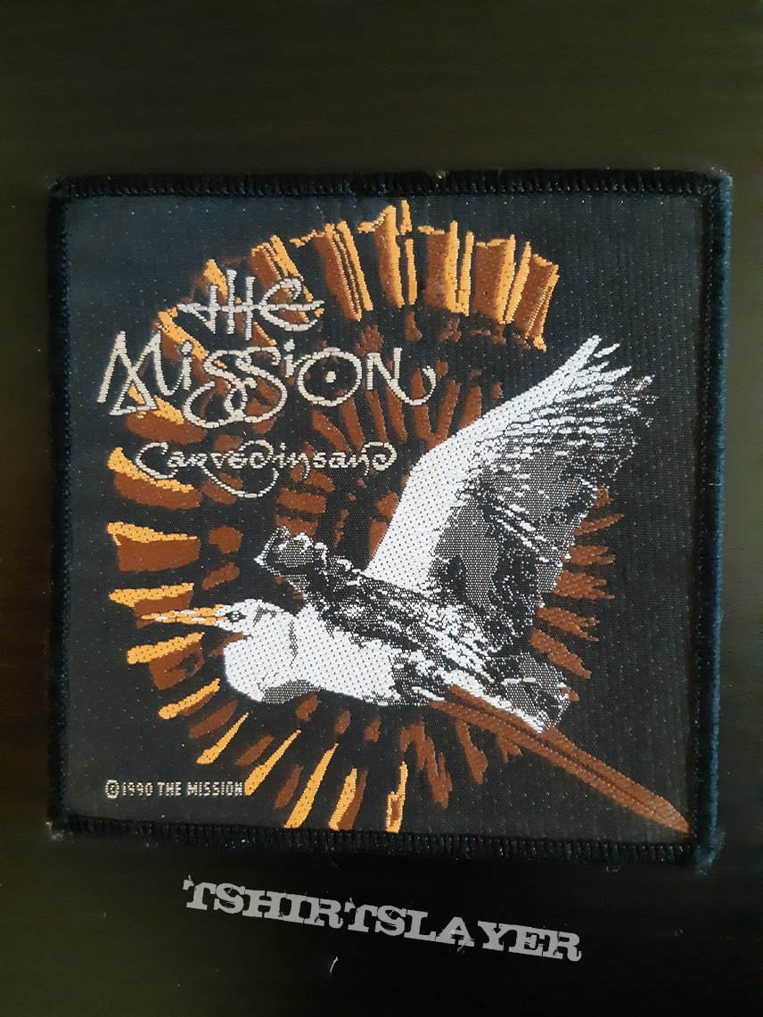 The mission - Carved in sand patch
