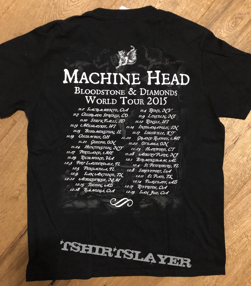 Machine Head TourShirt 2015
