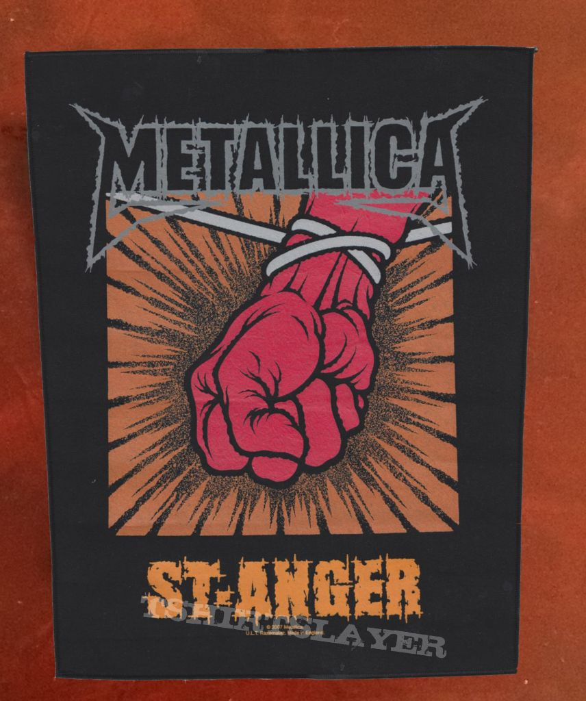 Metallica - Back Patch - St  Anger | TShirtSlayer TShirt and
