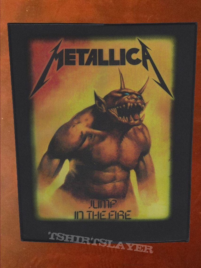 Metallica Jump In The Fire Metallica - Back Patch...