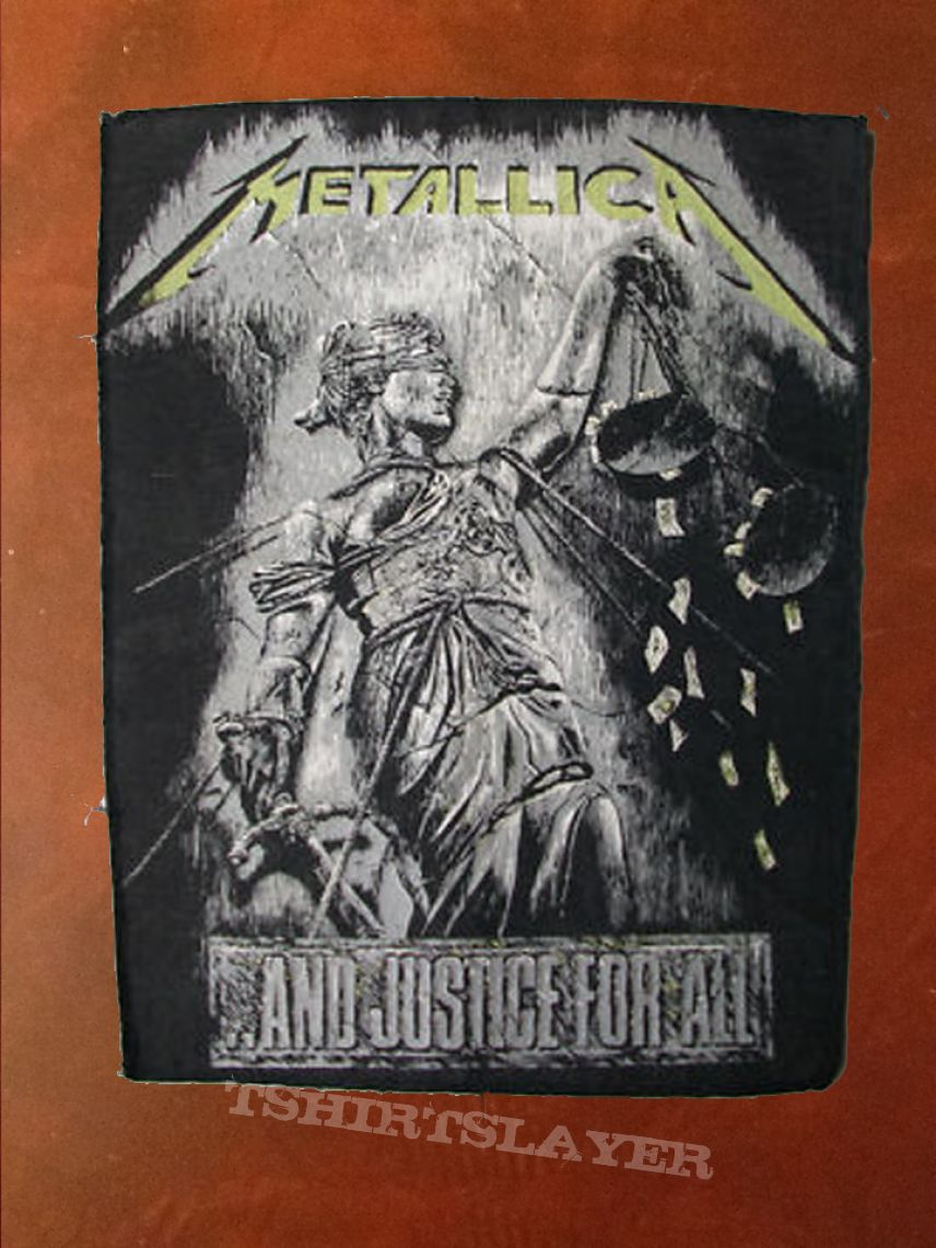 Metallica And Justice For All Logo