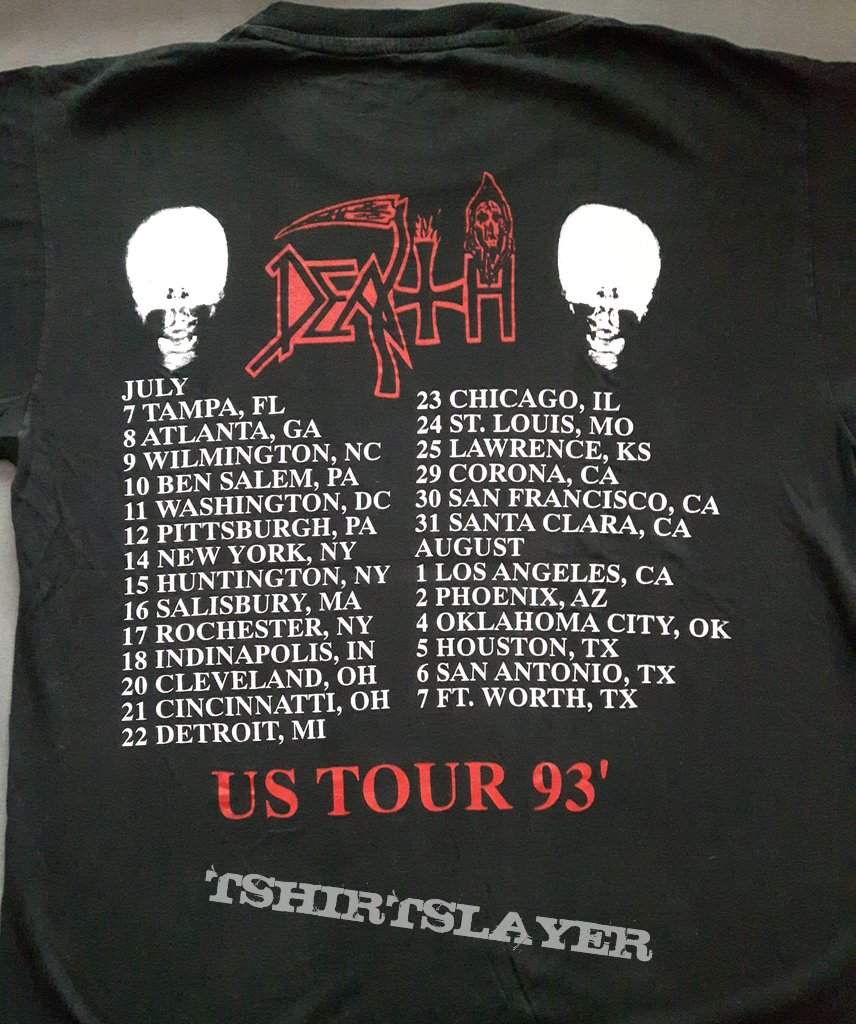 Death - Individual Thought Patterns US Tour '93
