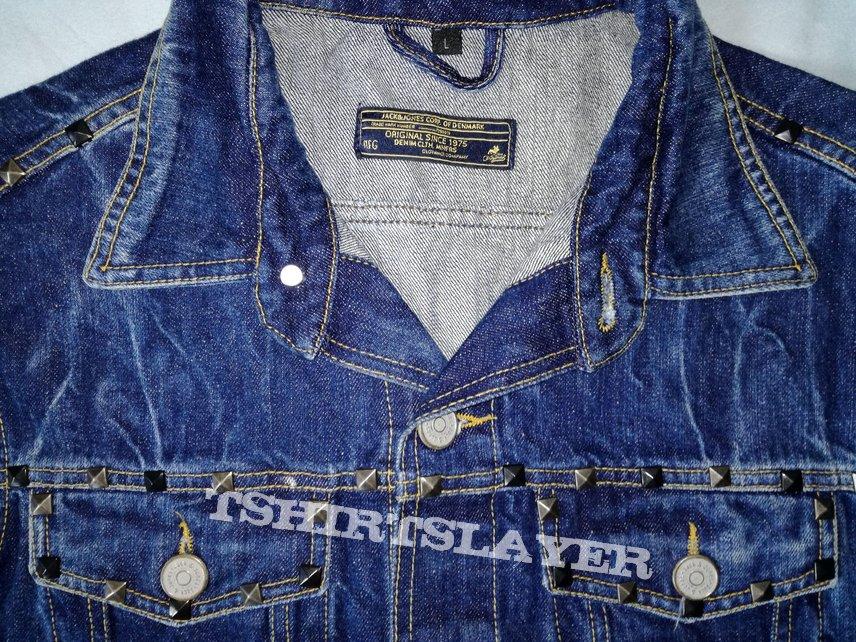 Jack & Jones Blue Denim Jeans Metal Vest, size L