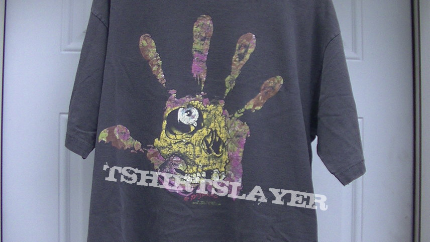 Pushead Hand of Fear t shirt