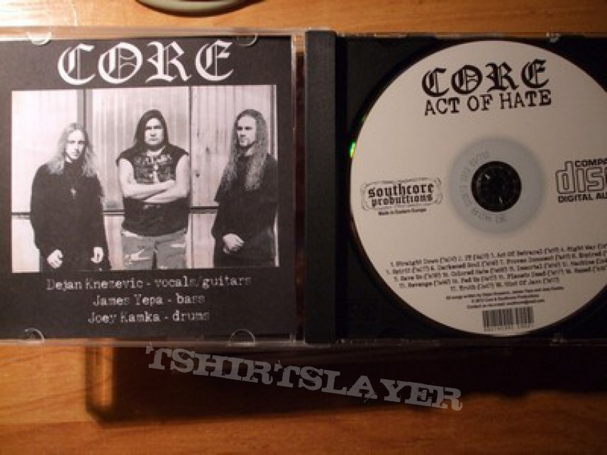 "Other Collectable - Core ""Act of Hate"" [compilation]"