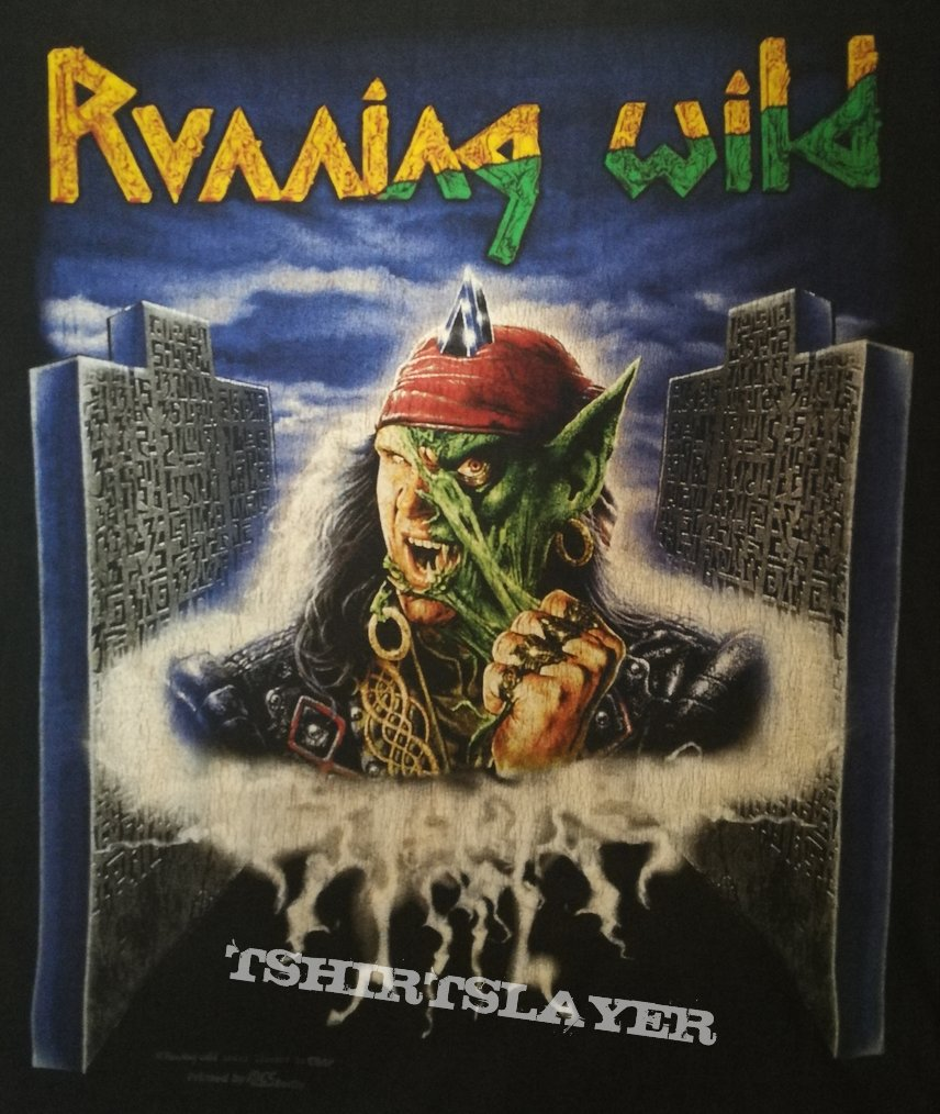 Running Wild - Masquerade Tour 96