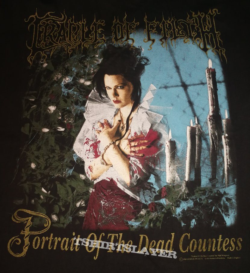 Cradle Of Filth - Portrait Of The Dead Countess