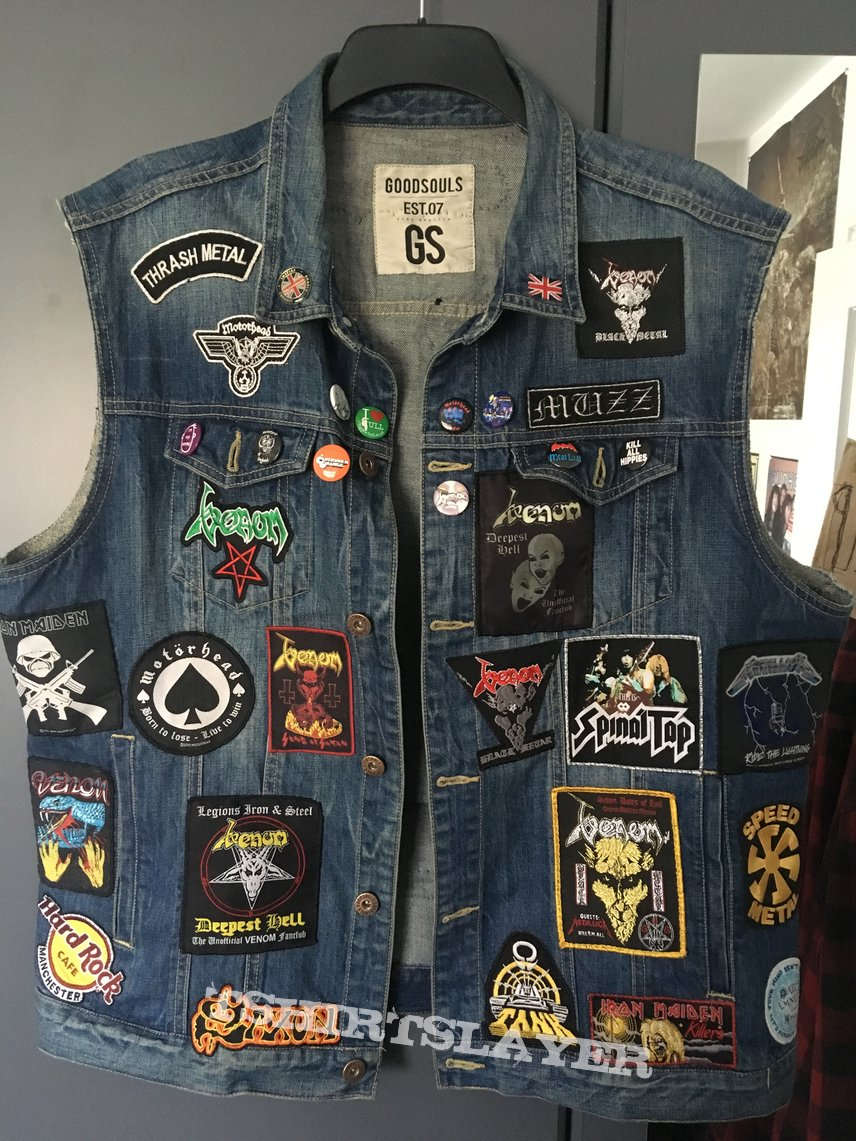 My vest so far