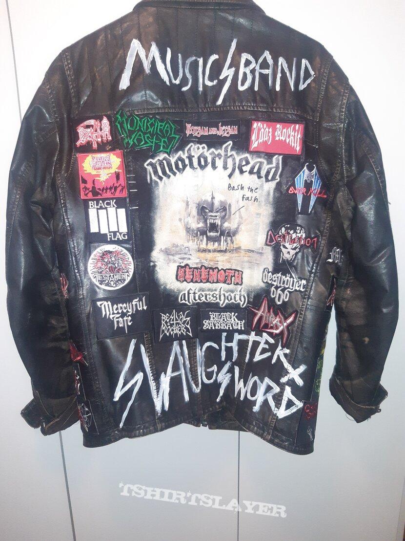 Leather jacket finished.