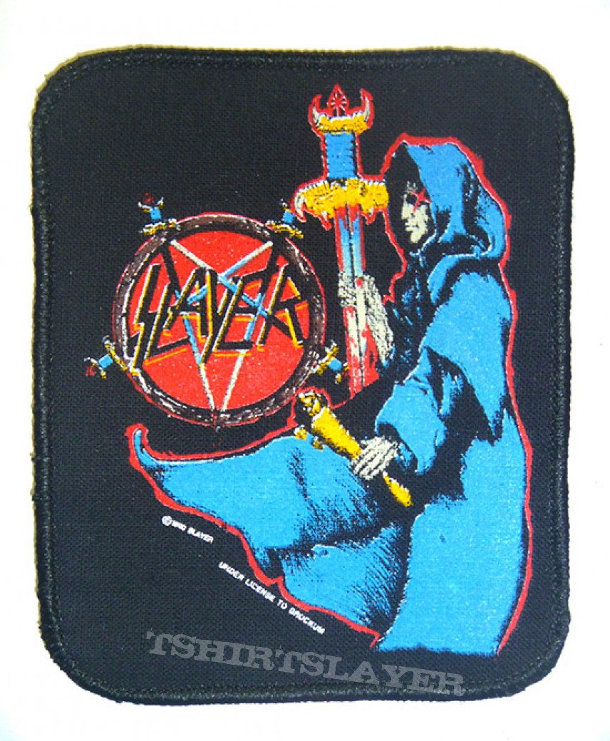 Slayer, Kreator and Obituary patches for sale or trade.