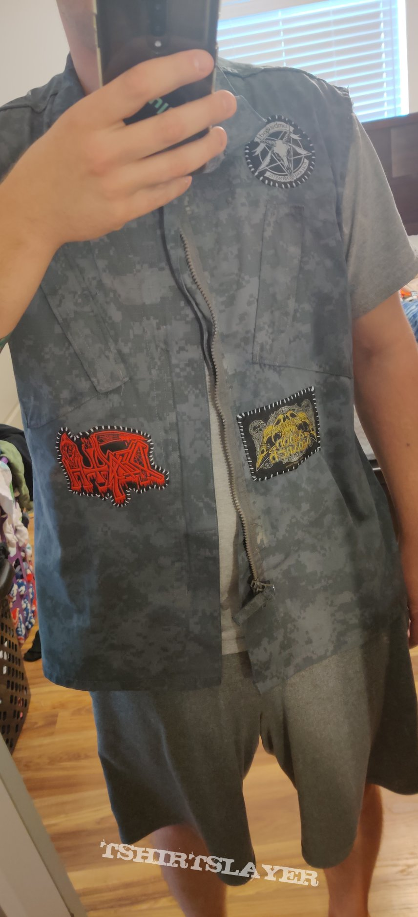Just started my battle vest