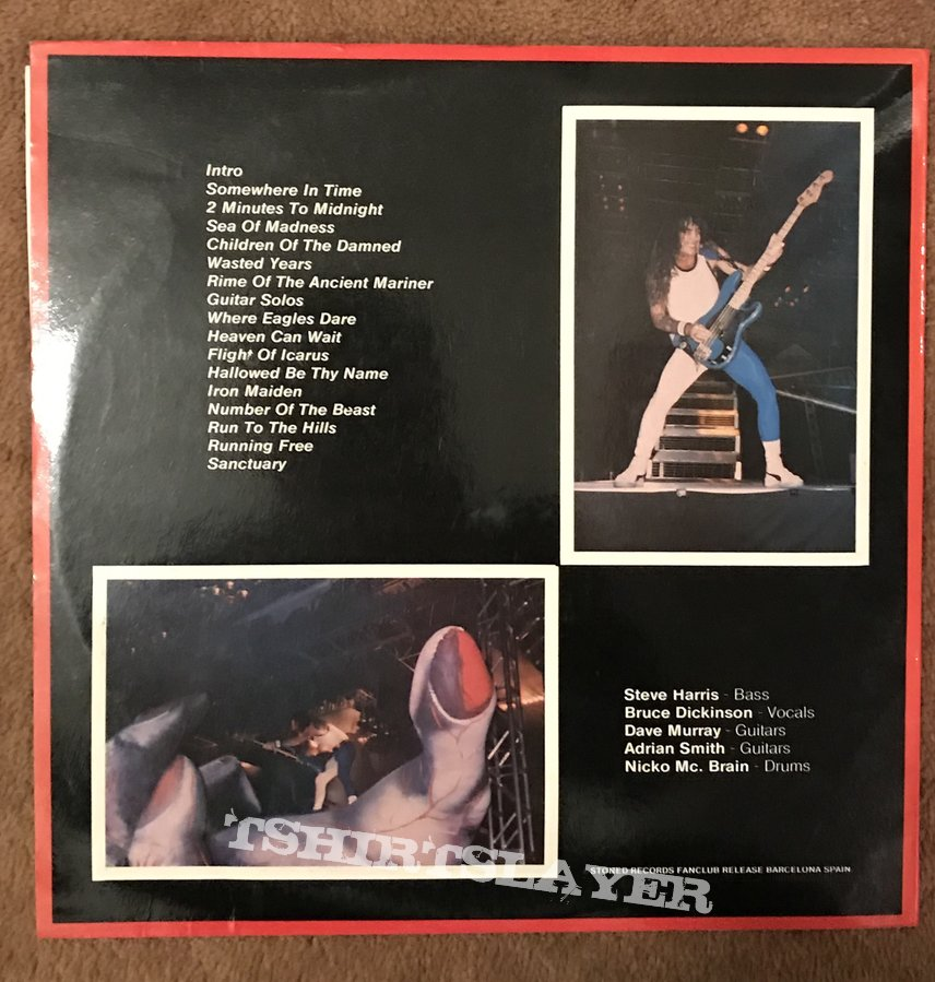 Iron Maiden Somewhere On Tour '86/'87