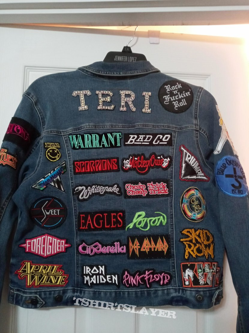 80s Rock Band Battle Jacket ( almost done)