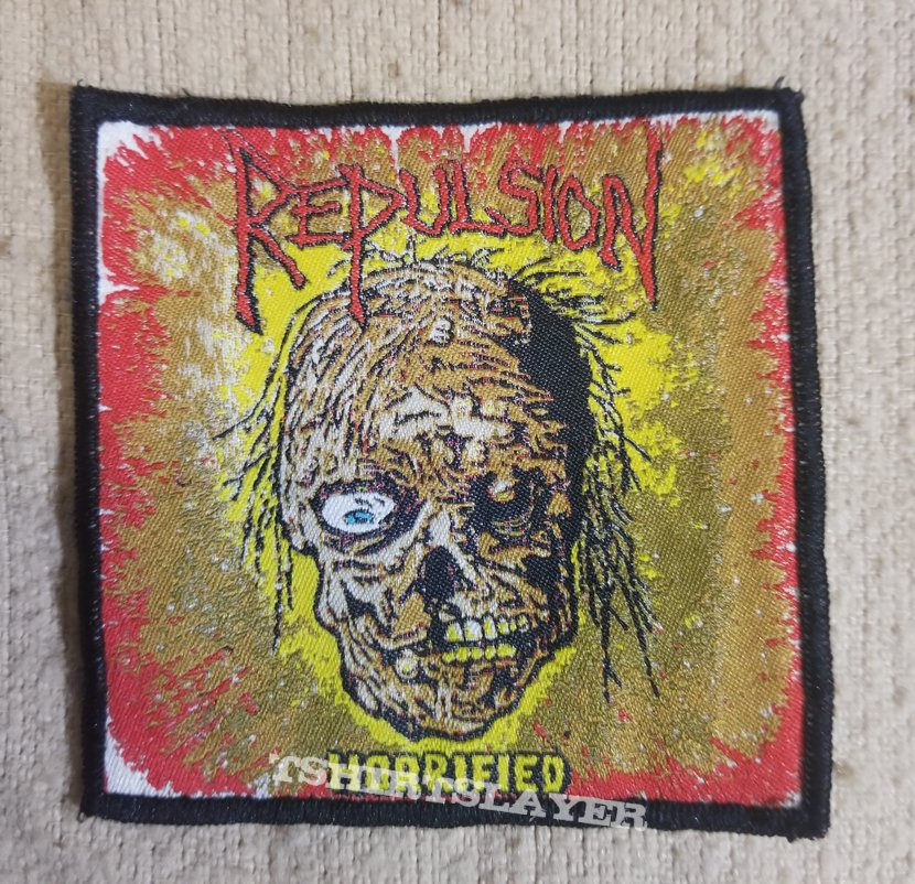 Repulsion Horrified woven patch