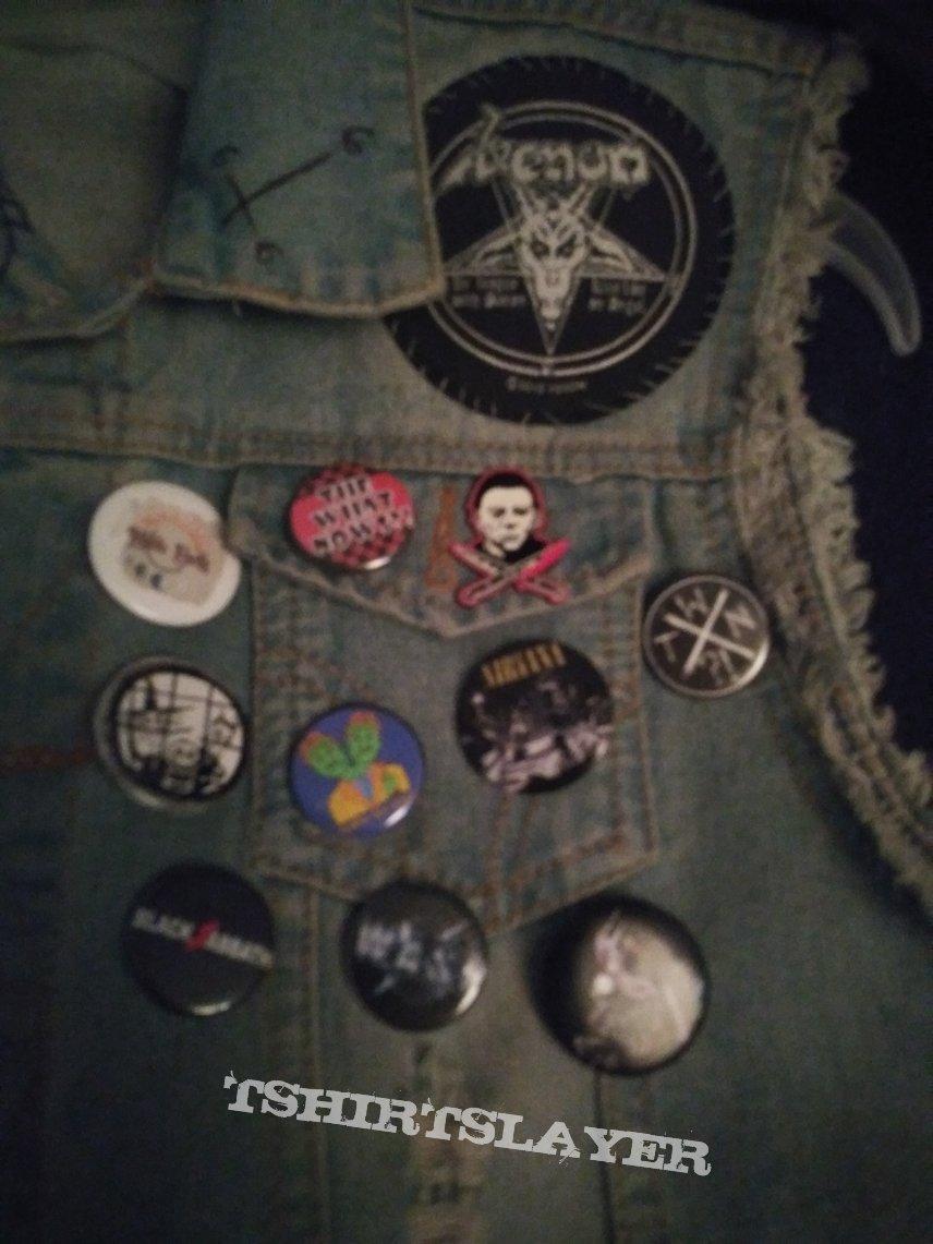 My first battle jacket WIP
