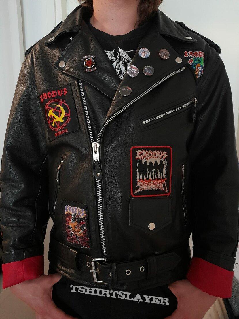 Exodus tribute leather jacket