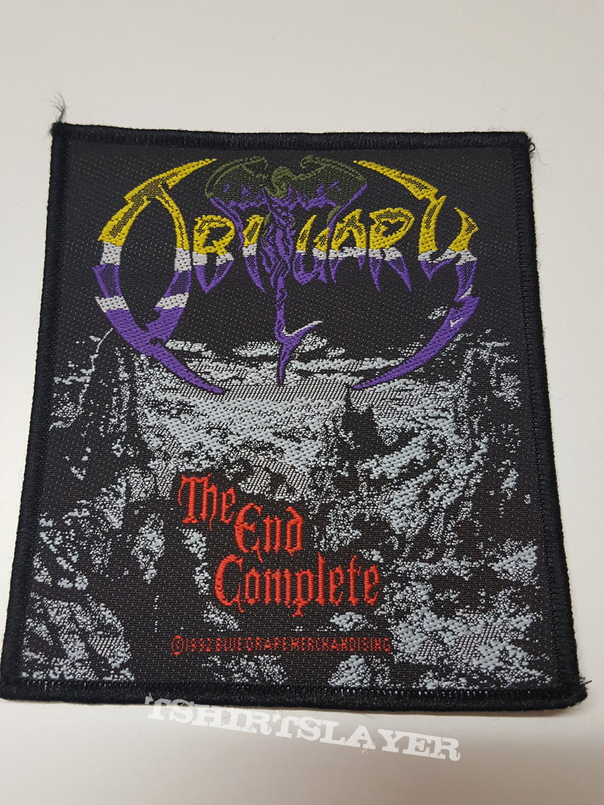 obituary the end complete patch