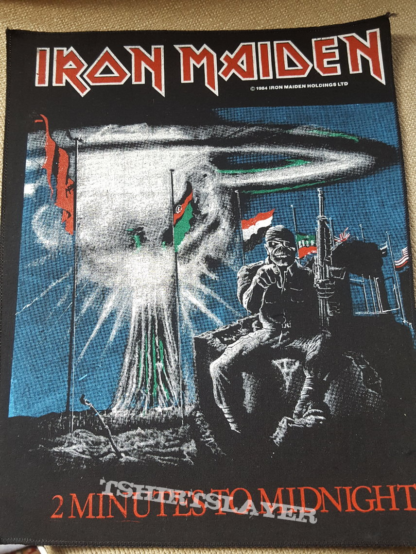 Iron Maiden vintage back patches