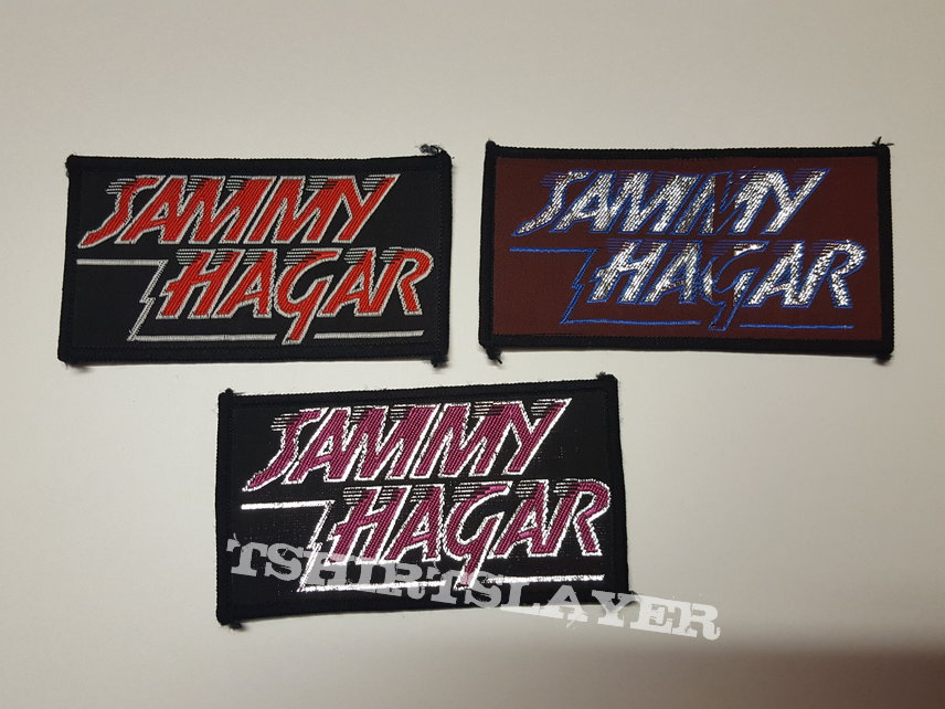 Sammy Hager vintage patches