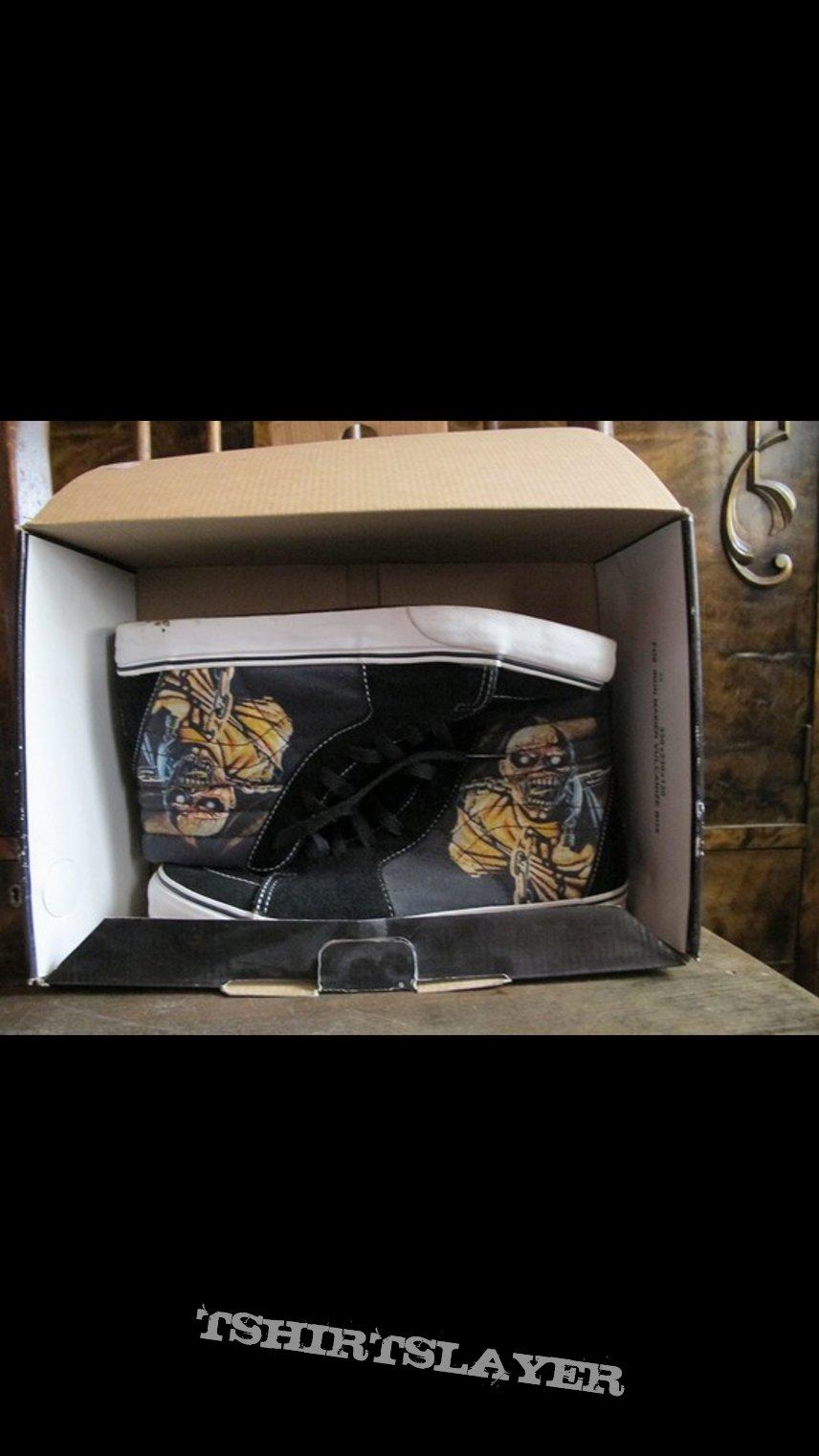 Iron maiden vans shoes piece of mind
