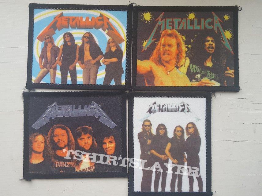 Metallica old schools patches