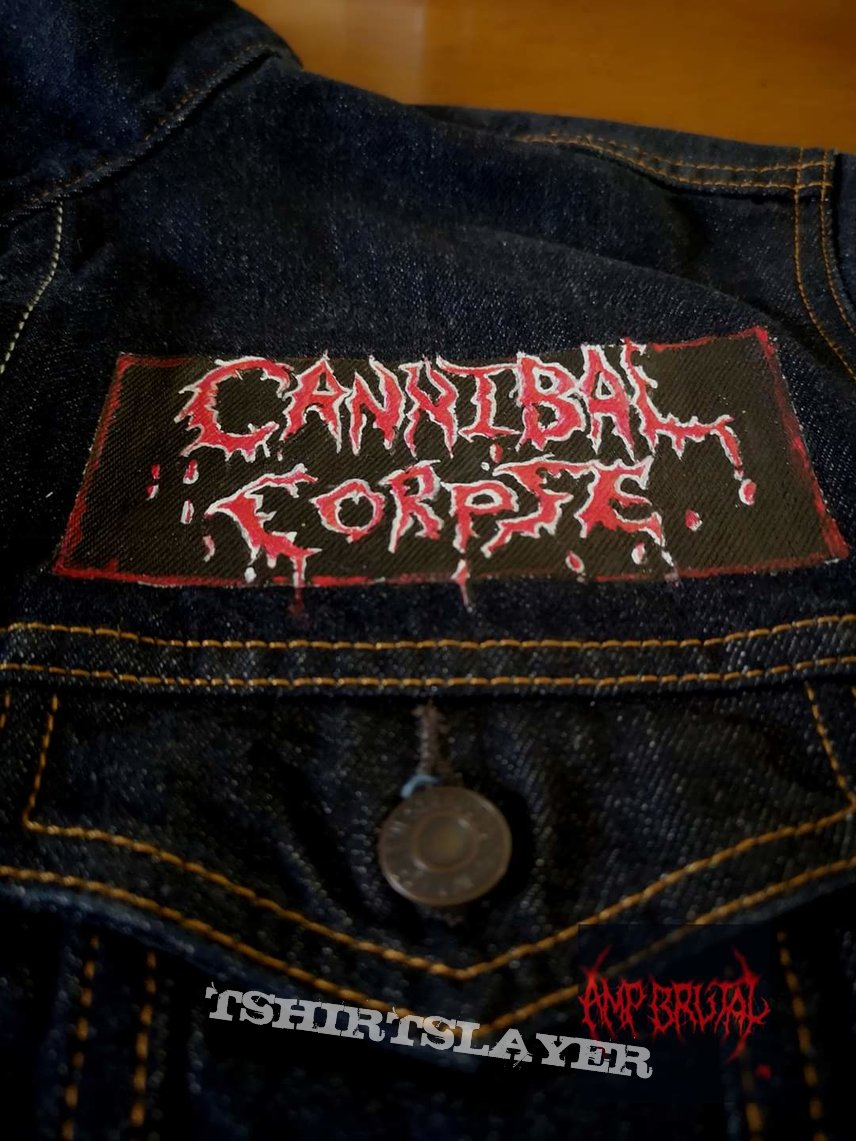 Cannibal Corpse ‎– Hammer Smashed Face​ Custom Jeans