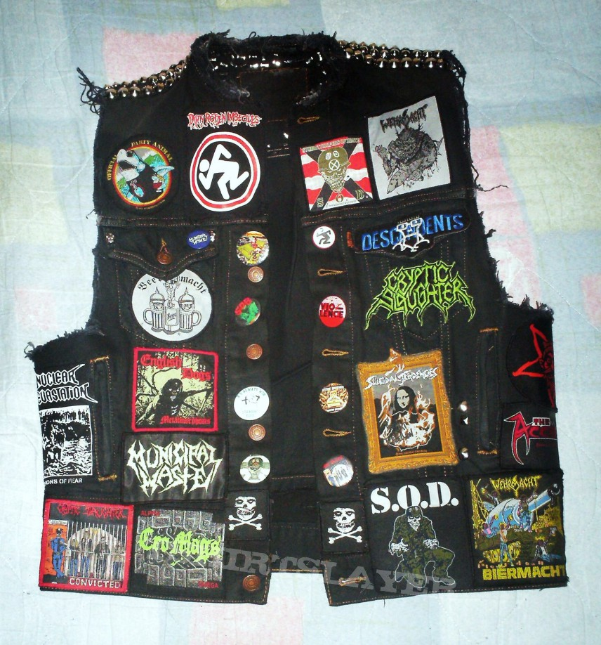 Crossover vest Almost finished