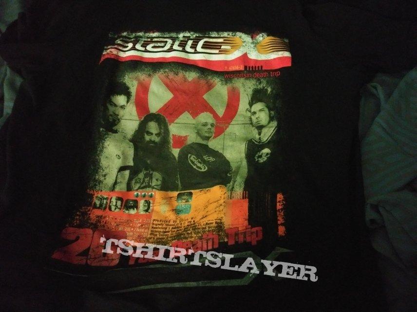20 Year Death Trip tour shirt