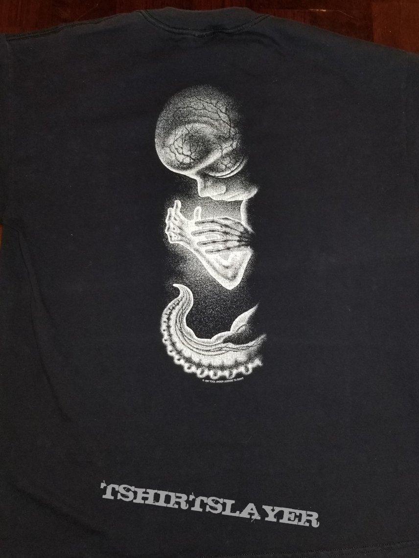 TOOL Classic Alien Fetus Shirt