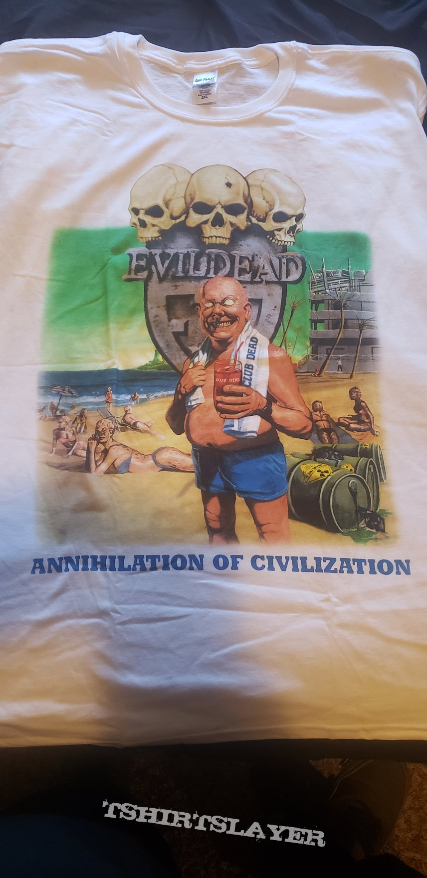Evil dead annilation of civilization
