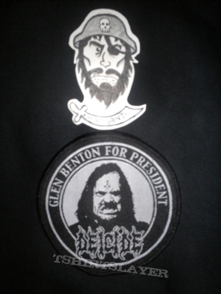 Patch - Deicide Benton for President Patch