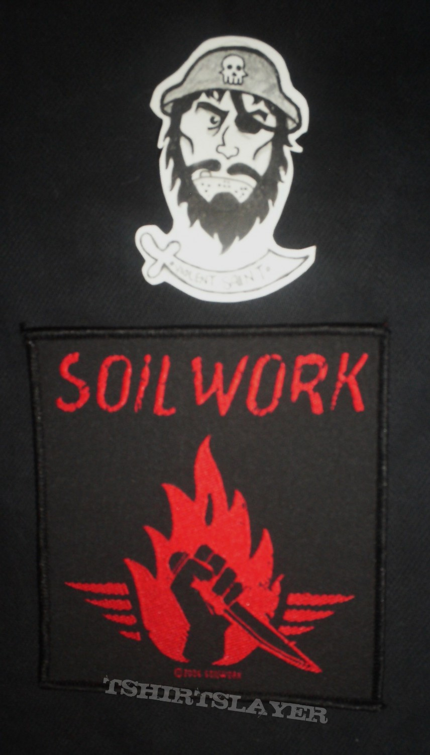 Patch - Soilwork Stabbing the Drama Patch