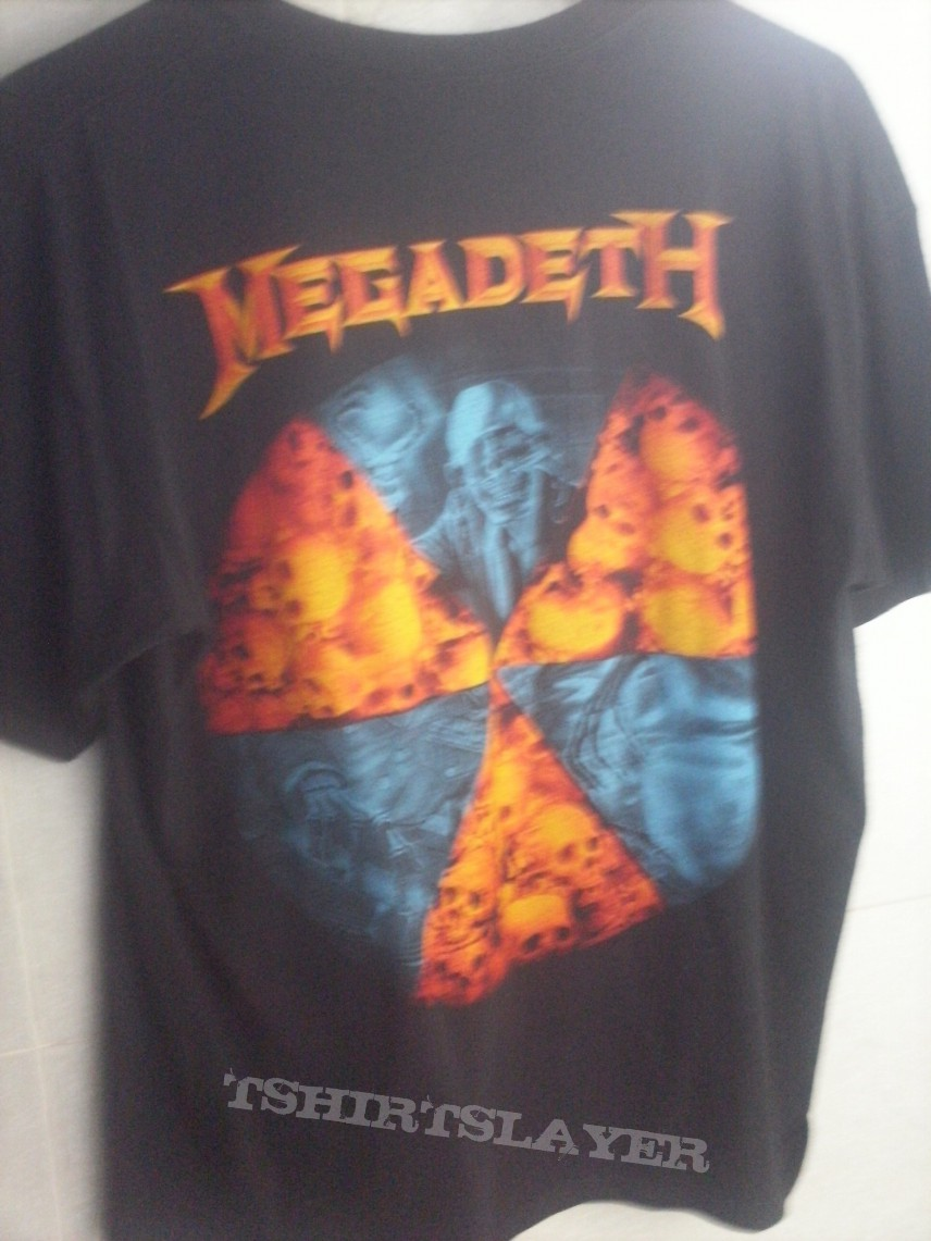 TShirt or Longsleeve - Megadeth Rust in Peace 20th Anniversary Shirt