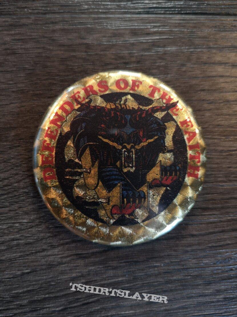 Judas Priest - Defenders of the Faith - button / badge