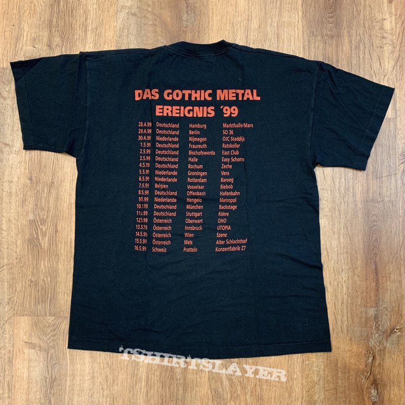 Das Gothic Metal Ereignis Tour 99' Shirt