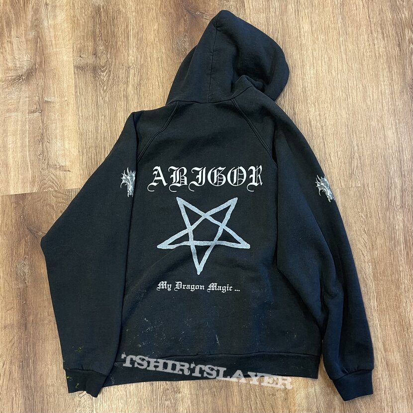 """Abigor - """"My Dragon Magic…"""" hooded sweatshirt"""