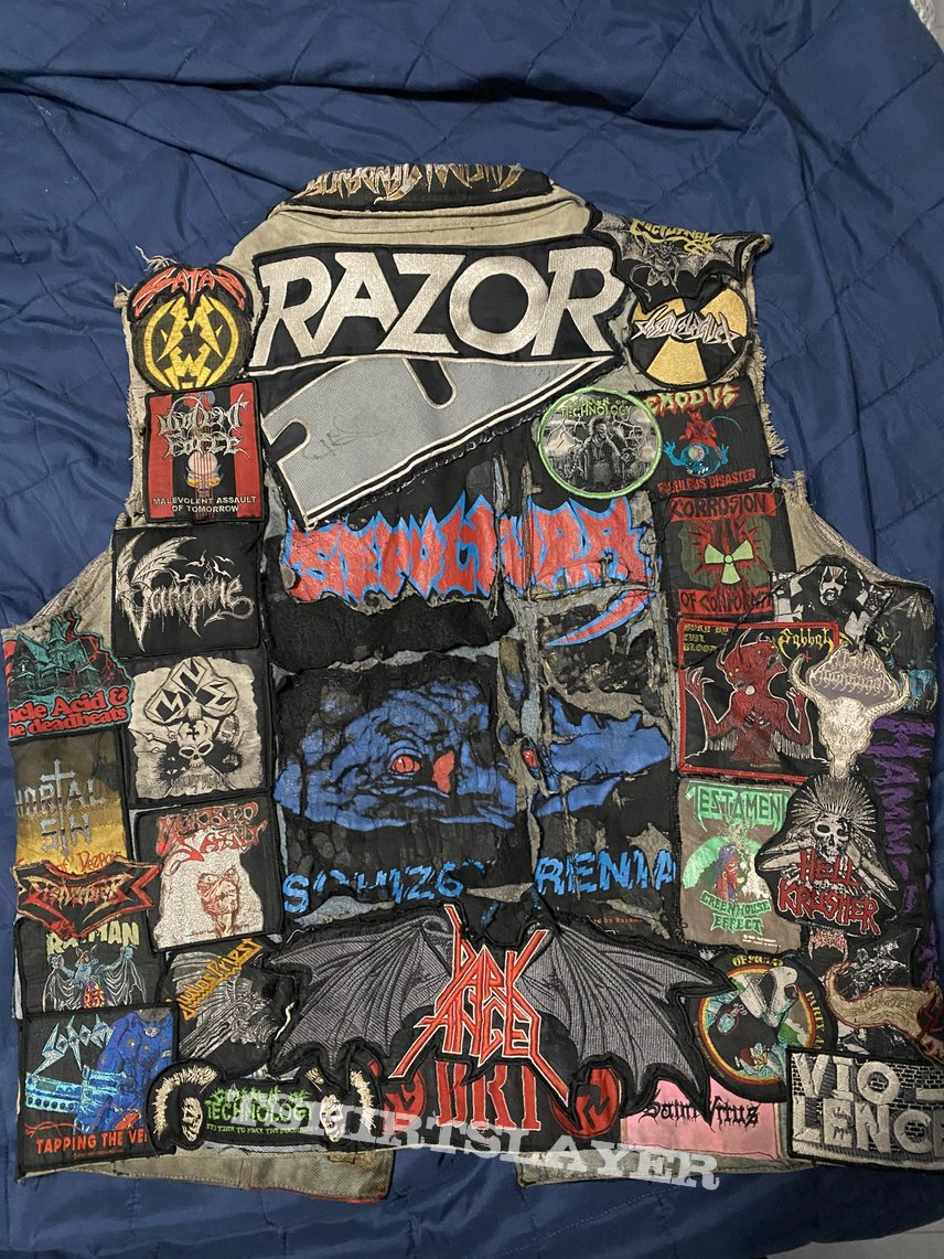 My vest 8 years later