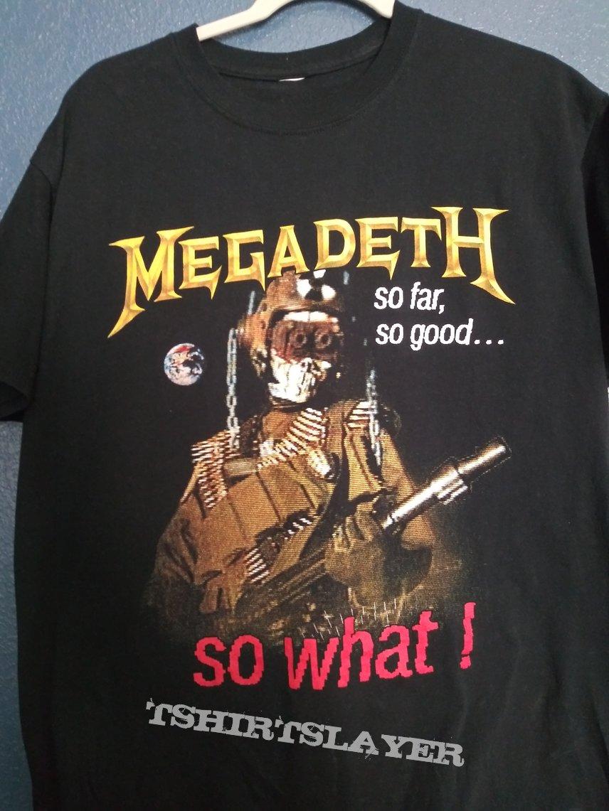 Megadeth So far, so good... So what! Shirt