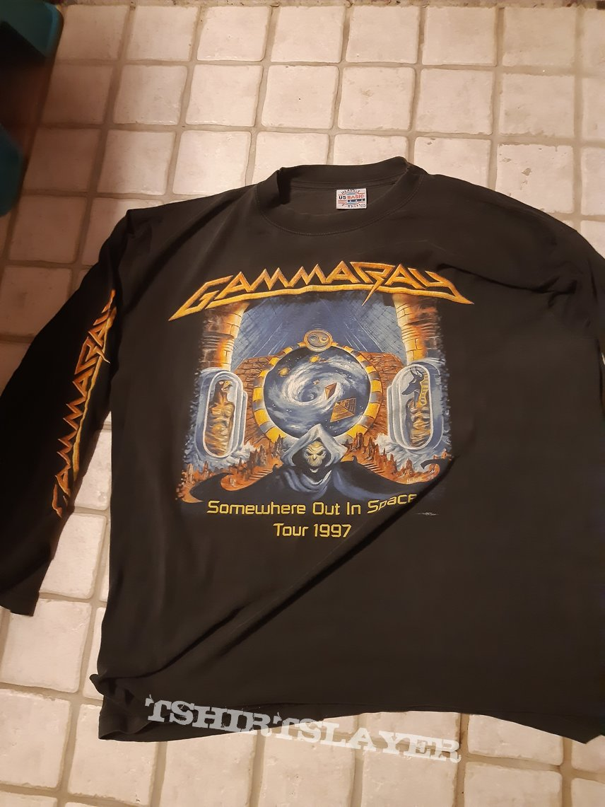 Somewhere out in space tour longsleeve