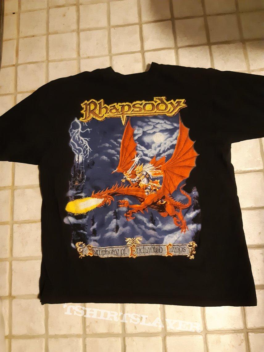 Rhapsody - Symphony of enchanted lands tour shirt