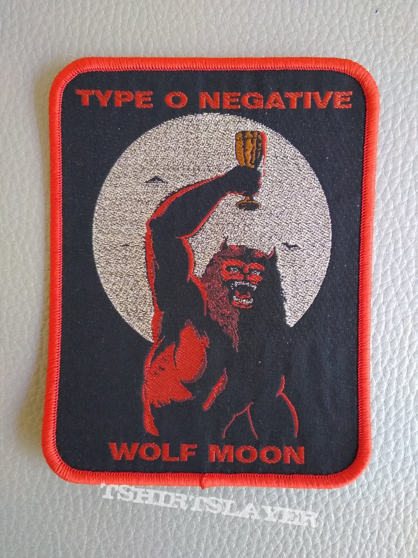 "TYPE O NEGATIVE ""Wolf Moon"" patch"