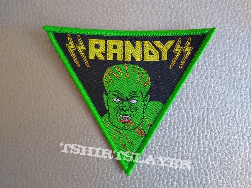 Randy  - Woven Patch