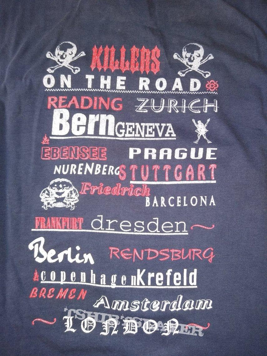"BABES IN TOYLAND  ""Nemesisters"" 1995  Tour shirt   size - L"