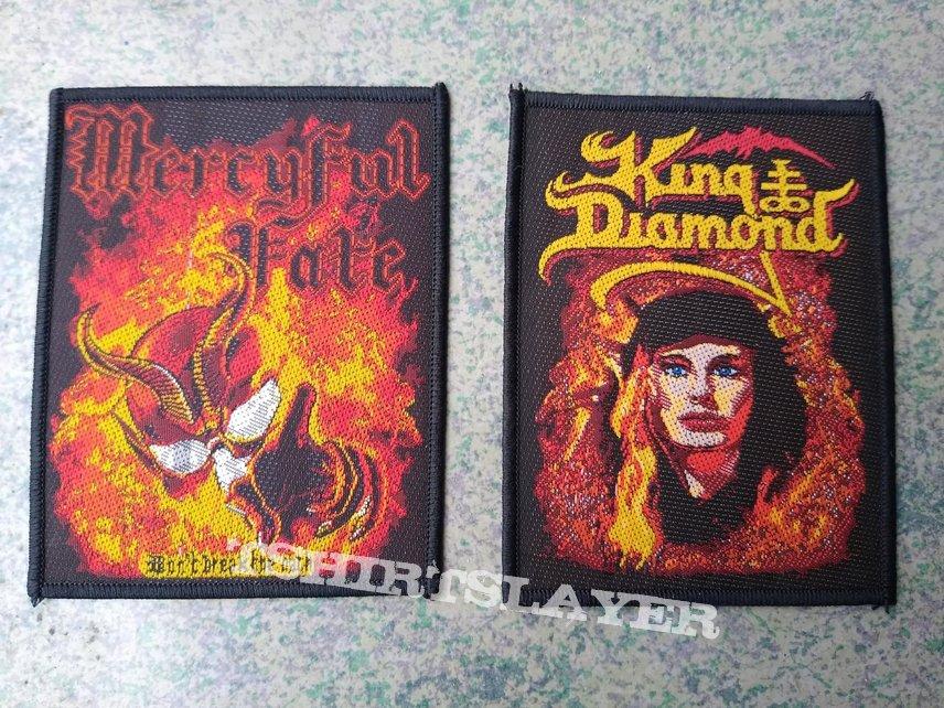 """Mercyful Fate """"Don't Break The Oath""""   Woven Patch   King Diamond """"The Fatal Portrait""""  WovenPatch"""